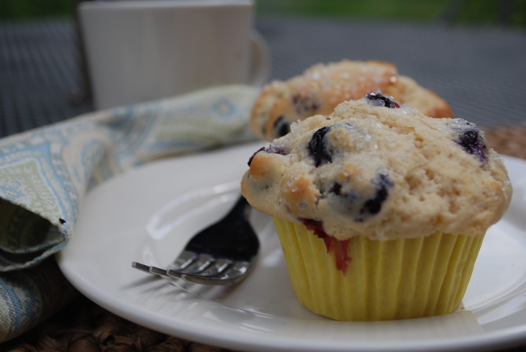 College Care Package Recipe Easy Blueberry Lemon Muffins